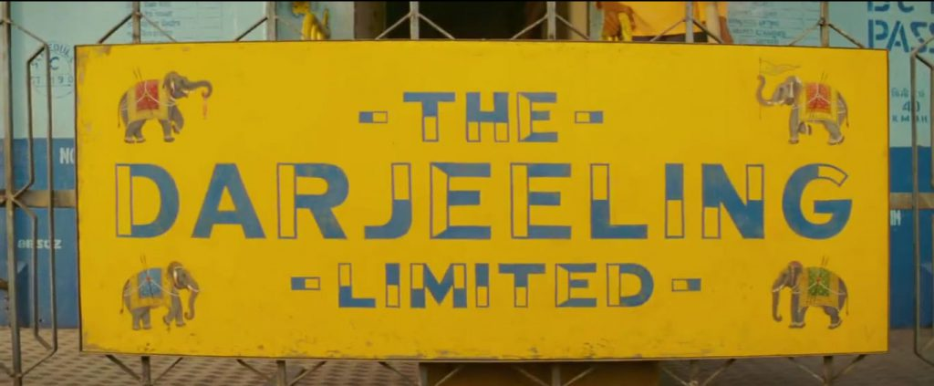 Hand Painted Train Name // The Darjeeling Limited
